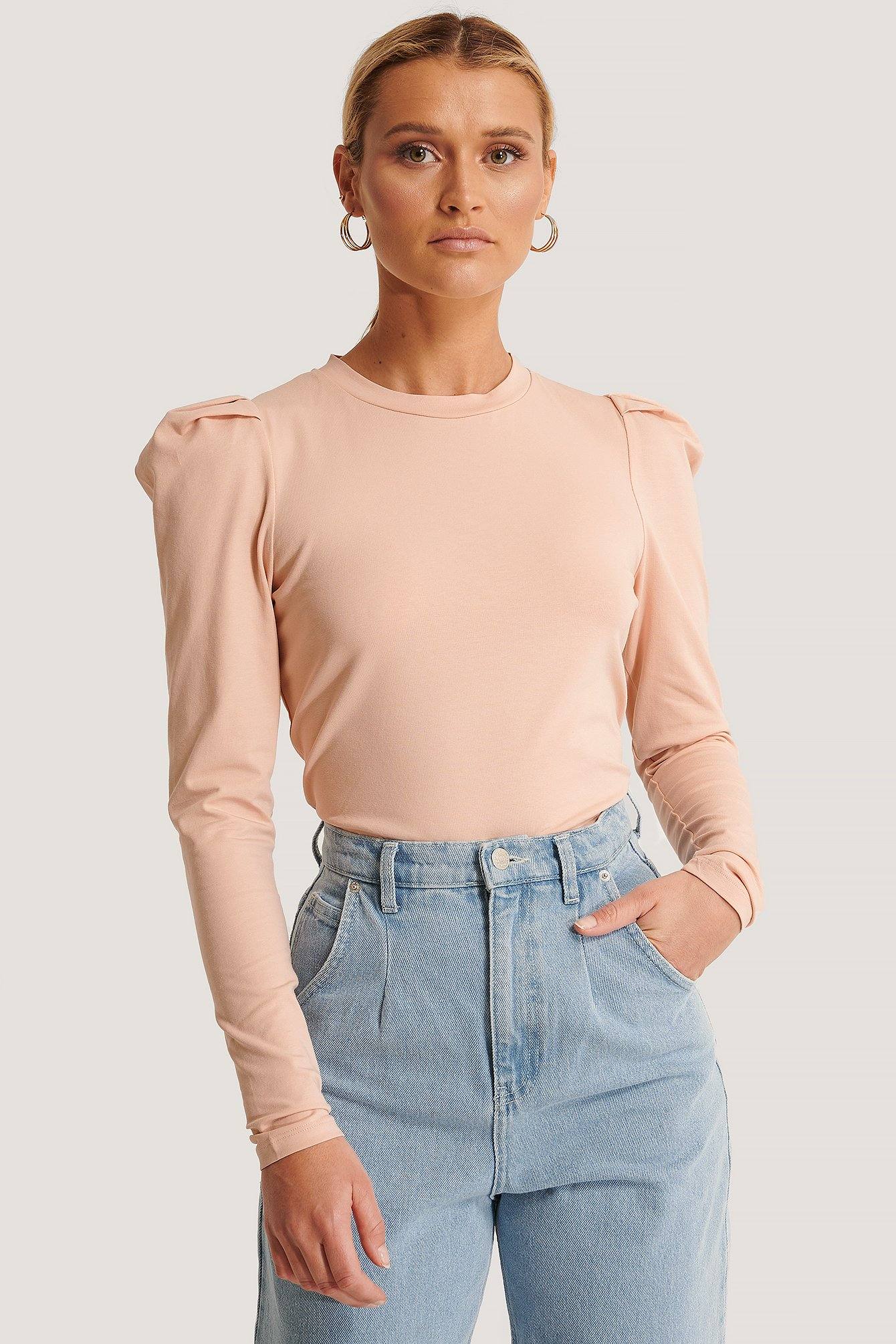 Sisters Point Perle LS Top - Pink