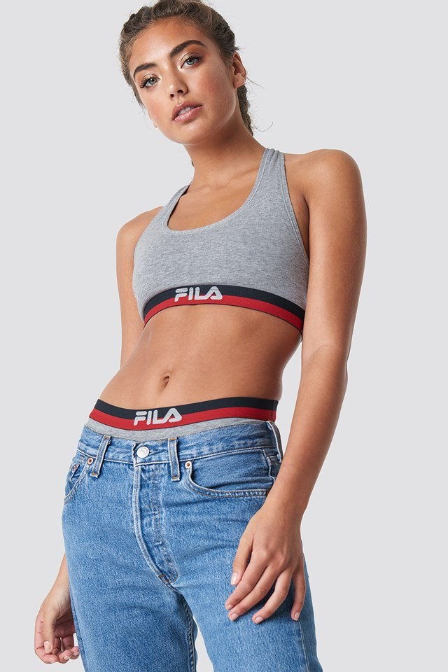 Grey Fila Outfit.