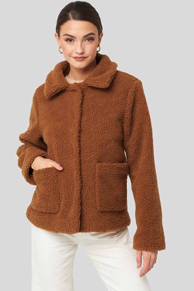 Amina Jacket Chestnut