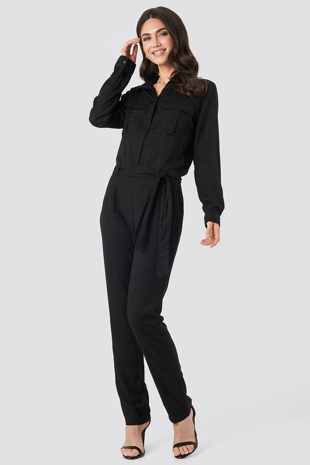 Ariana Jumpsuit Black