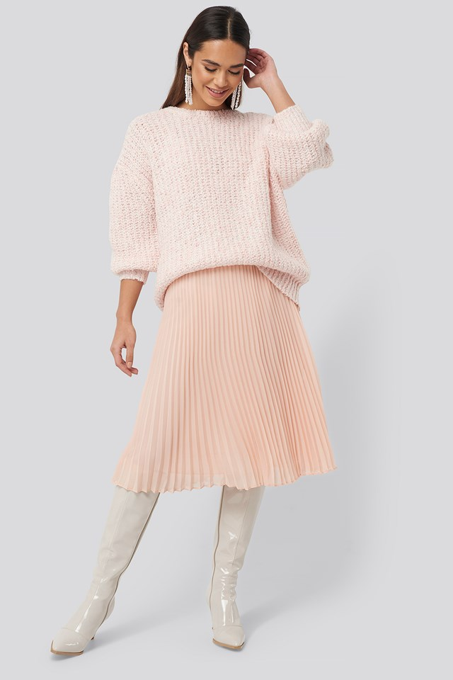 Billie Skirt Dusty Rose