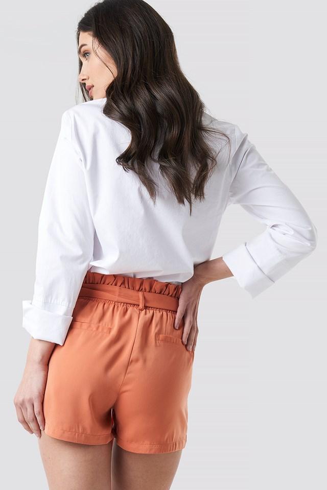 Dora Shorts Terracotta