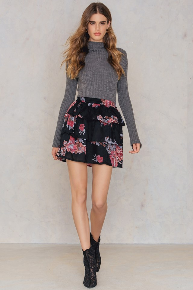 Lidyona Skirt Black