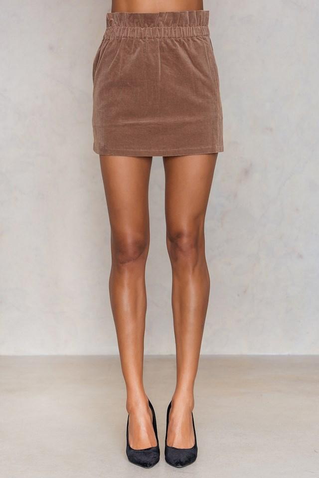 Lucia Skirt Camel