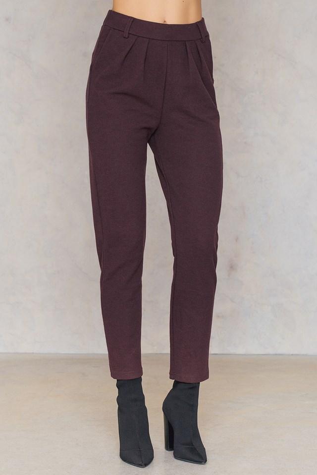 Spodnie Macon Burgundy