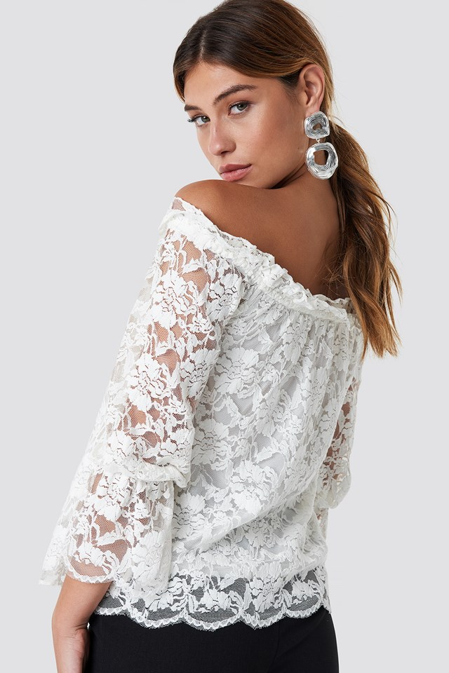 Nor Lace Blouse Offwhite