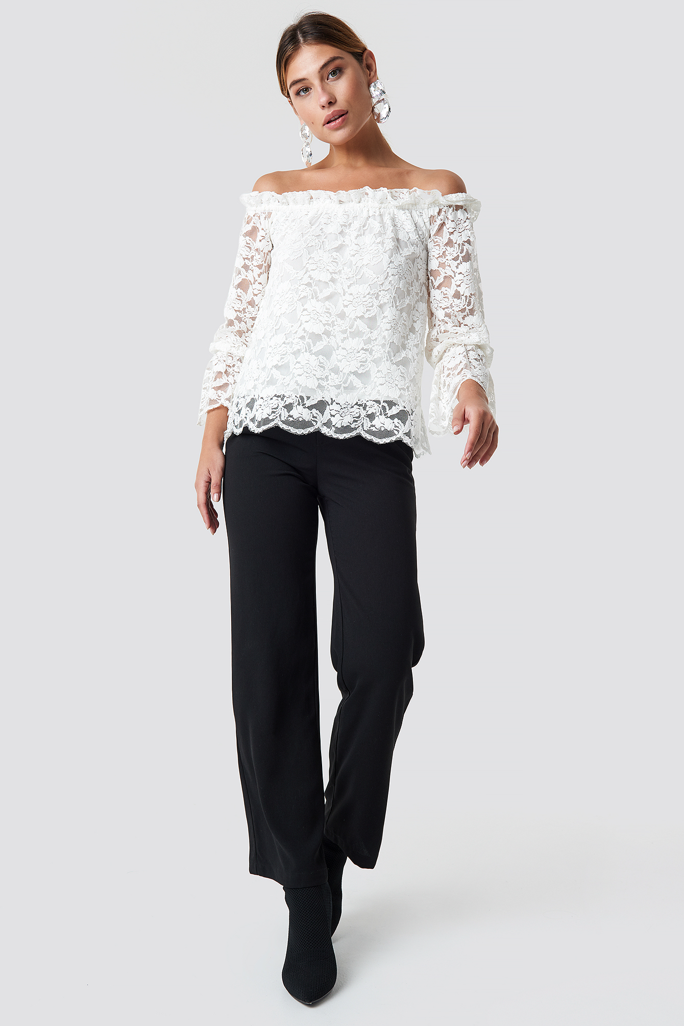 Nor Lace Blouse NA-KD.COM