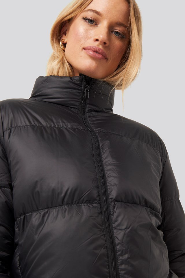 Pretty Puff Jacket Black
