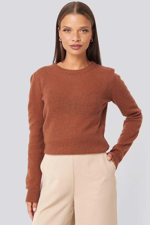 Pure Cashmere O-Neck Pullover Sparkz