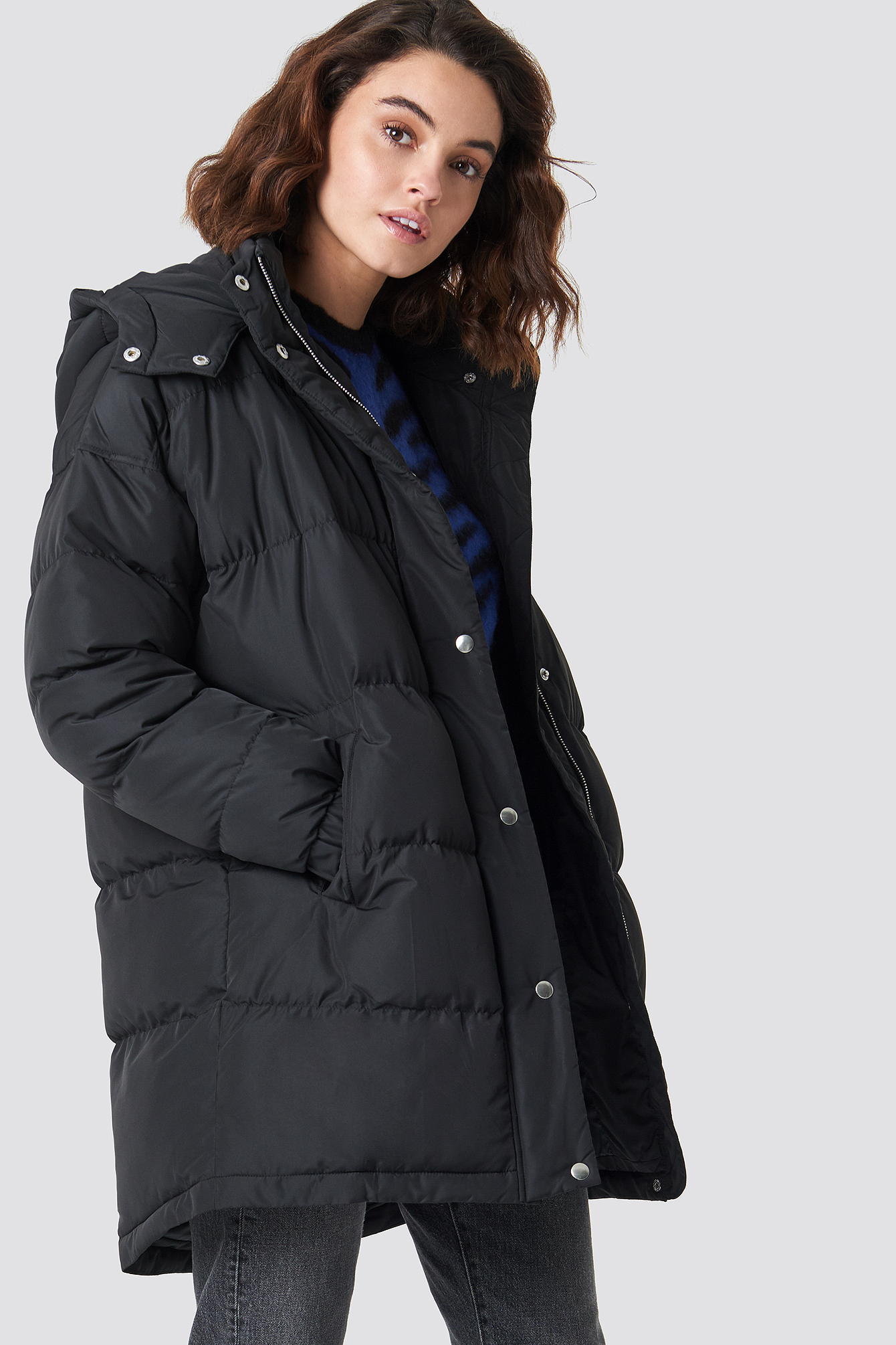 sparkz -  Roma Mid Coat - Black