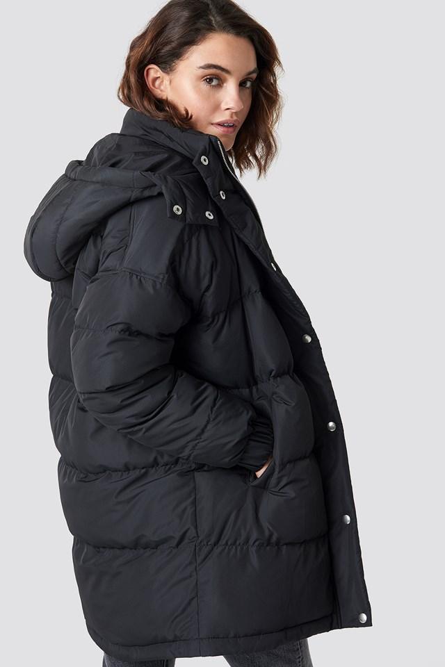 Roma Mid Coat Black