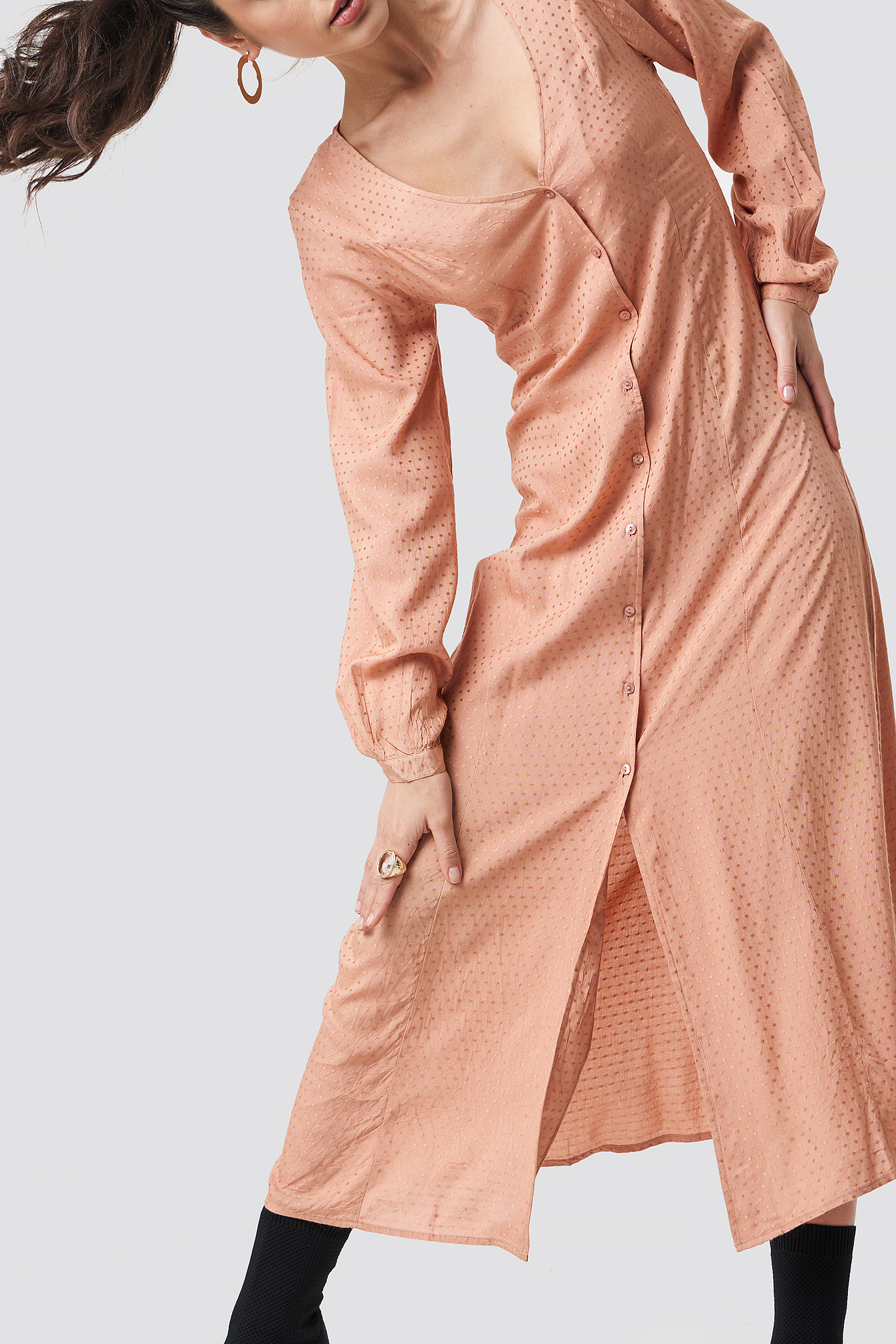 Sukienka maxi Rosemary NA-KD.COM