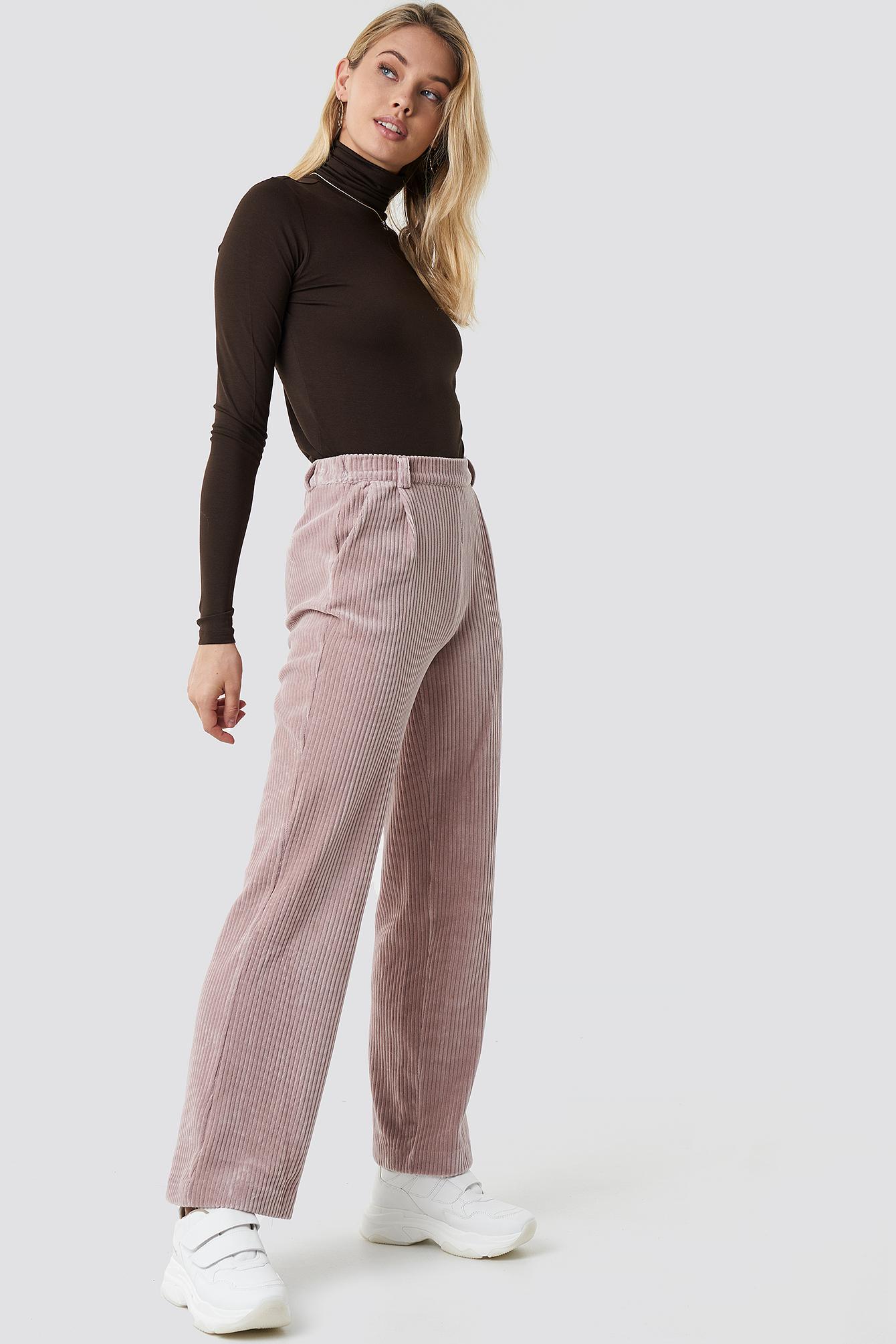 Silvia Loose Pants NA-KD.COM
