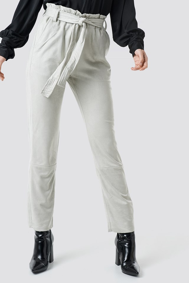 Taima Pants Tender Grey