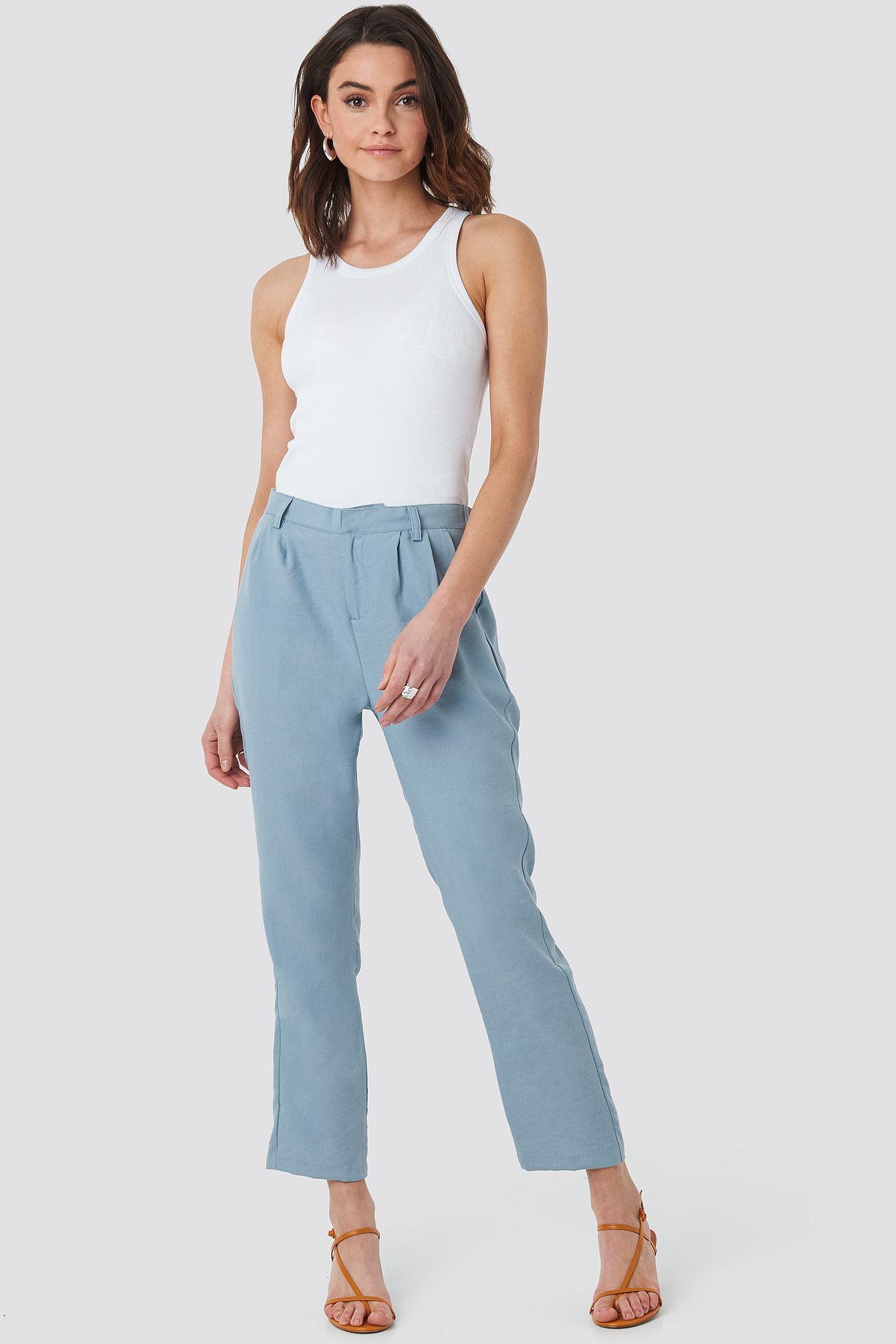 Victoria Crop Pants NA-KD.COM