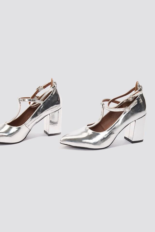 Minnie Heel Silver