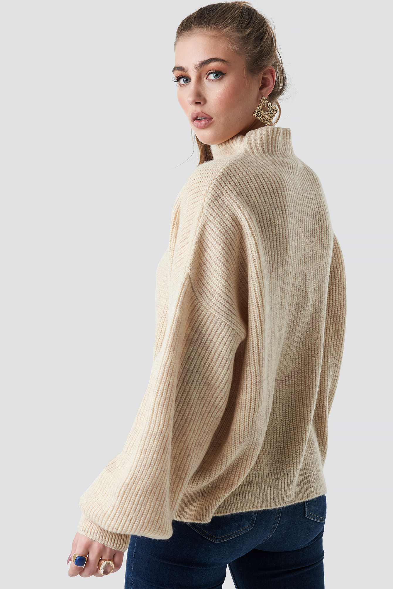 Jennifer Andersson Knitted Sweater NA-KD.COM