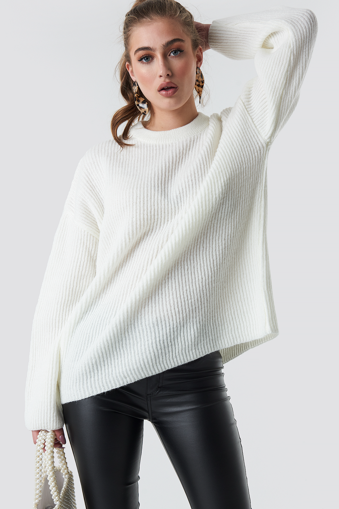 Katarina Juric Knitted Sweater NA-KD.COM