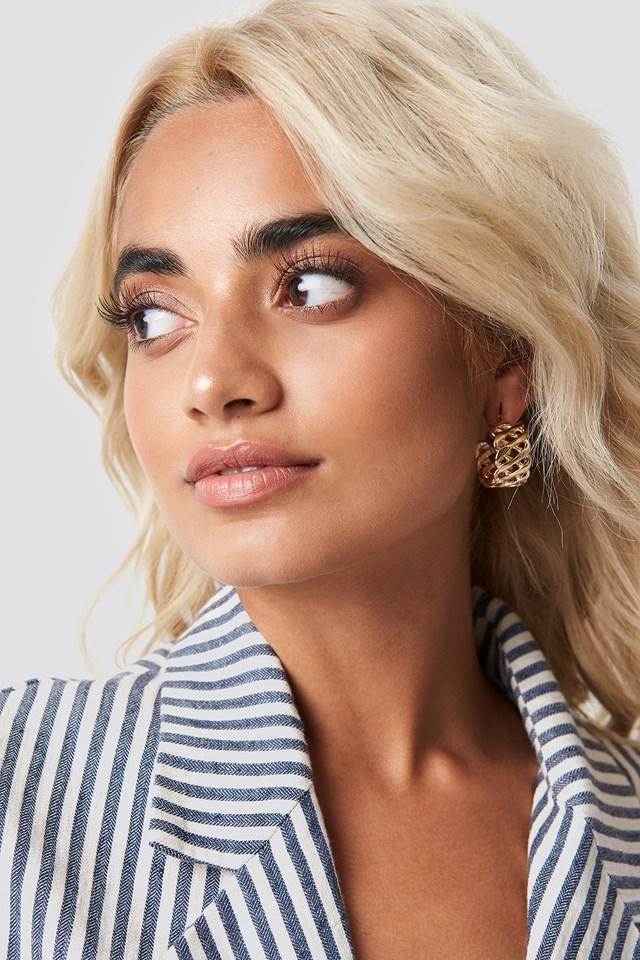 Matilda Djerf Earrings Gold