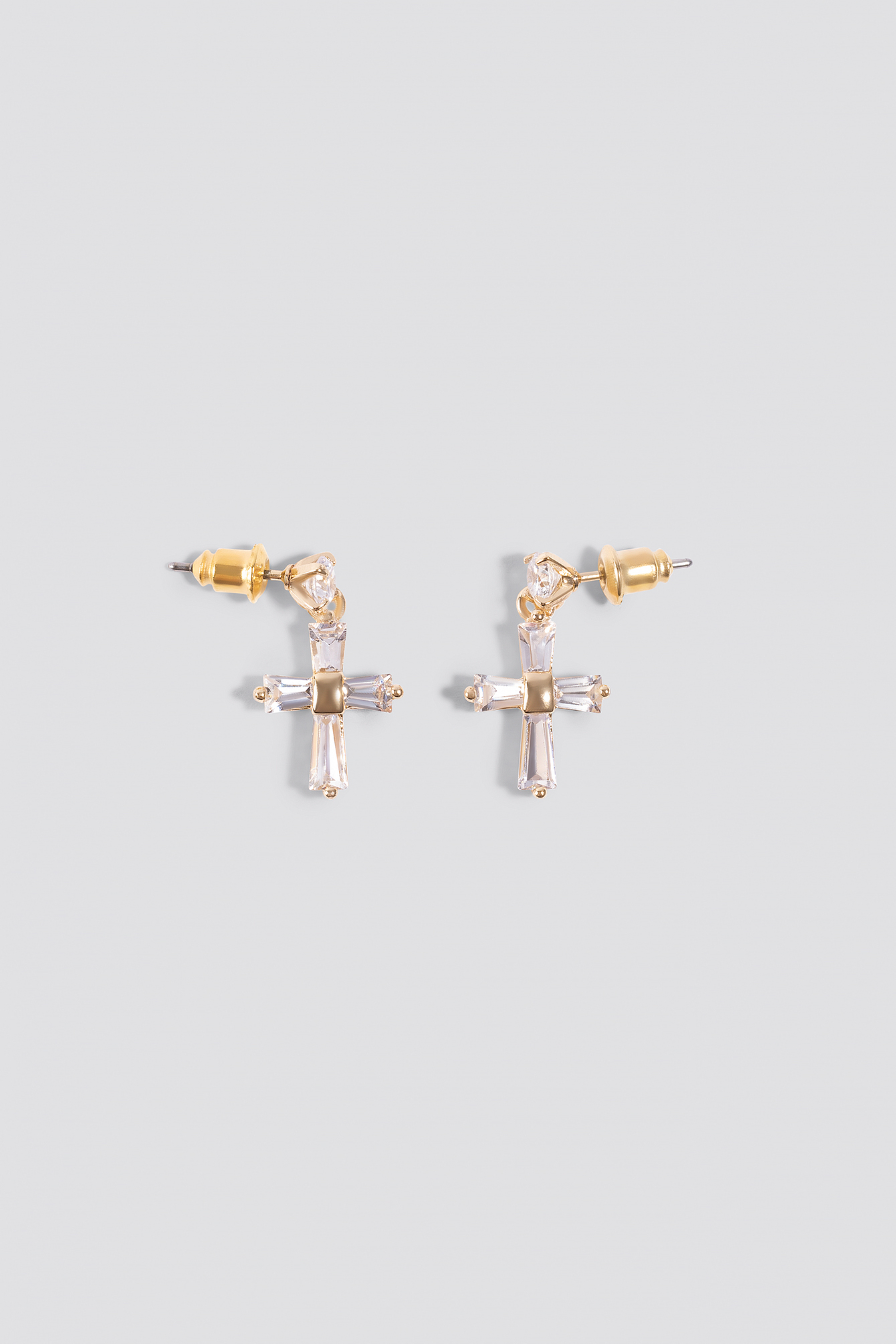 Sophia Phiaka Cross Earrings NA-KD.COM