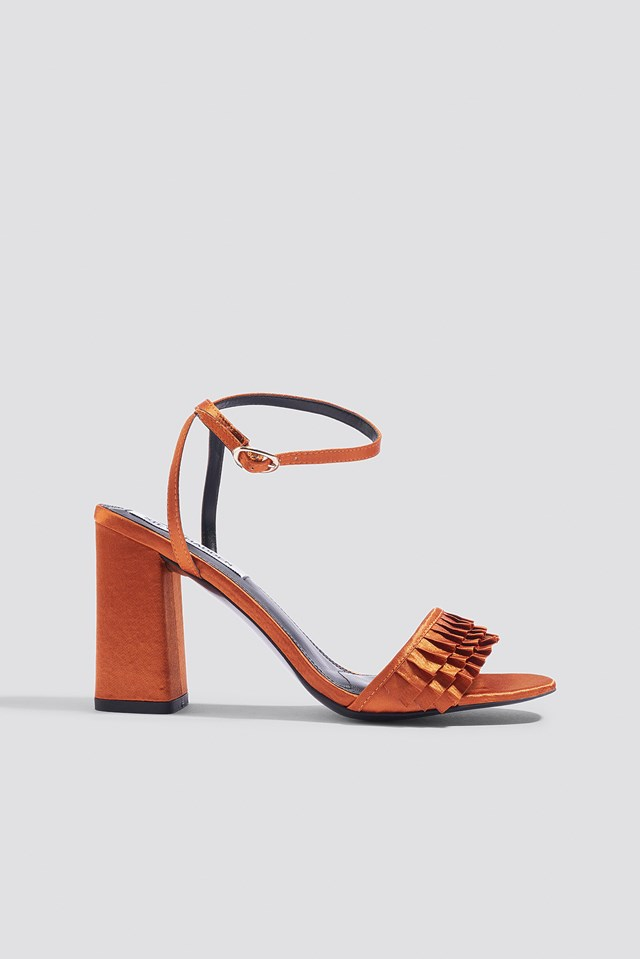 Akkrum Sandal Rust