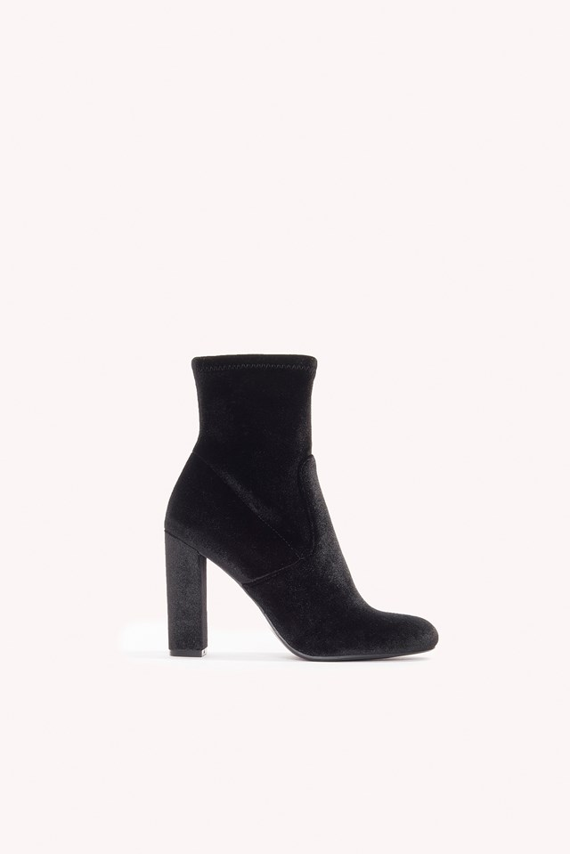 Editt Ankleboot Black
