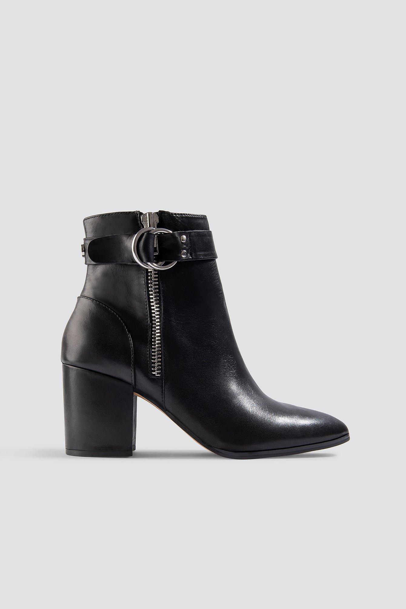 steve madden -  Johannah Ankleboot - Black