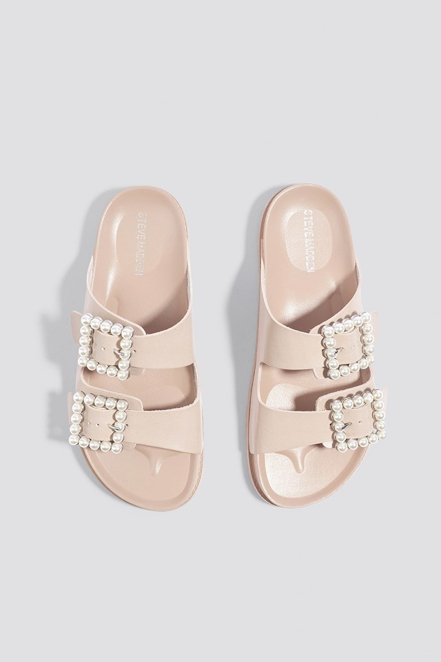 Luxely Flat Sandal Blush