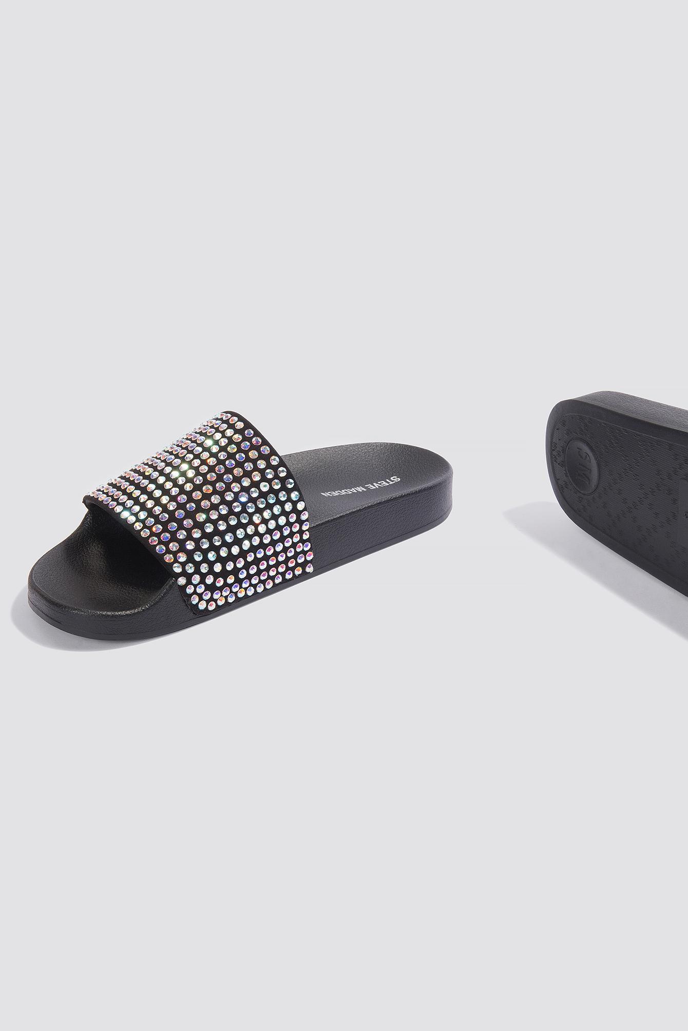 eda615b06 Steve Madden Softey-R Slipper Sandals Metallic