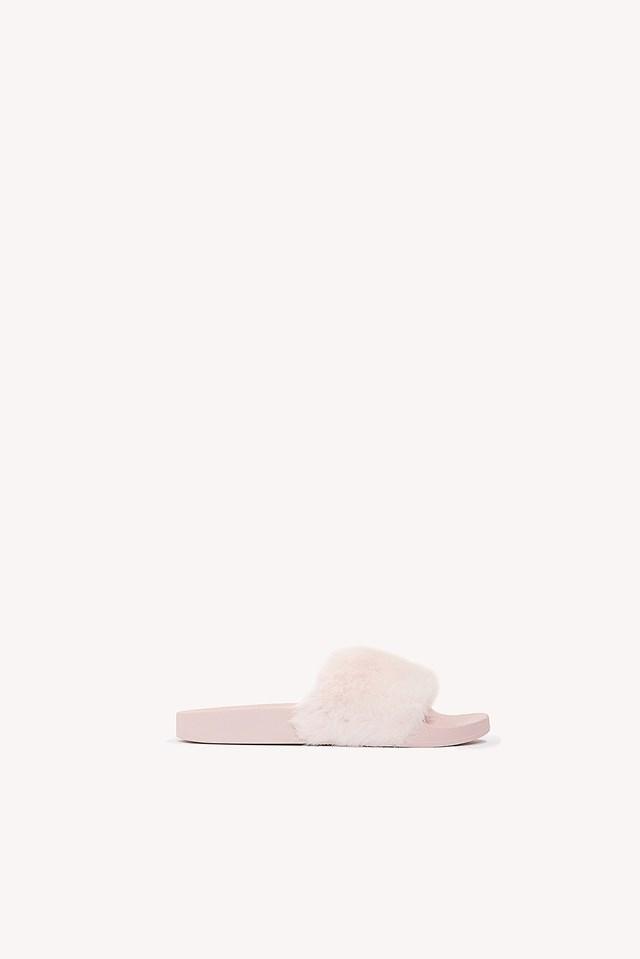 Softey Slipper Pink