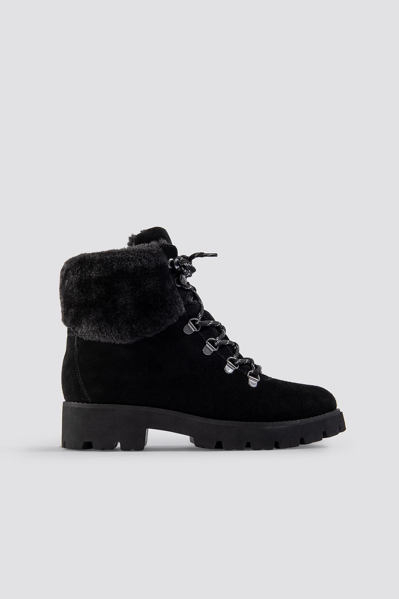 steve madden -  Zoomy Ankleboot - Black