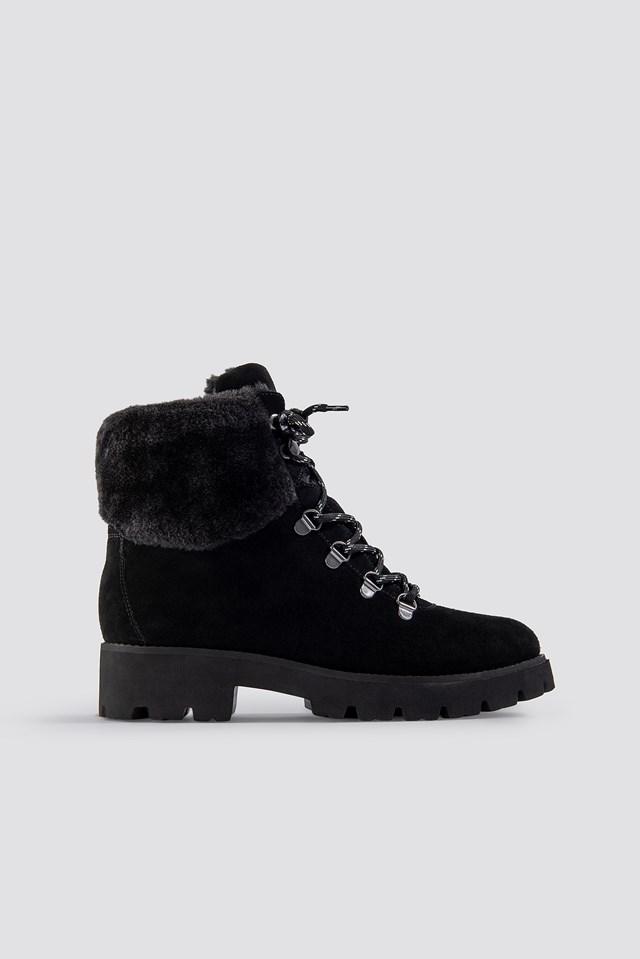 Zoomy Ankleboot Black Suede
