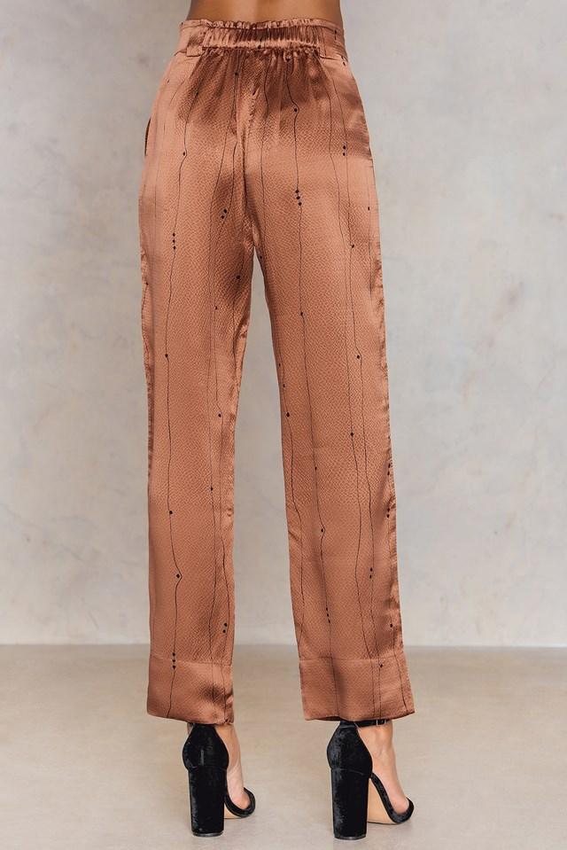 Spodnie Vinnie Cells Pecan