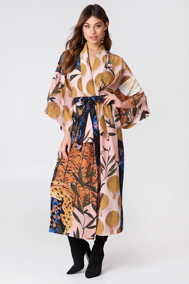 Nat Kimono Dress NA-KD.COM