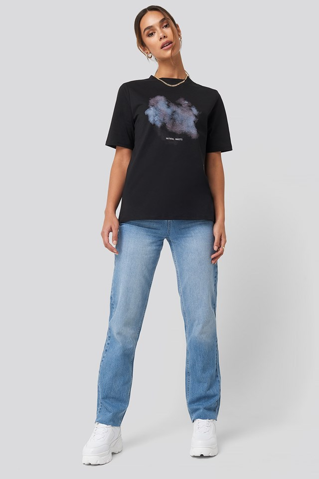 Natural Habit Tee Black Outfit