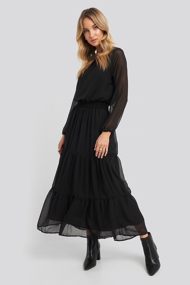 Nicoline-M Dress Black Outfit