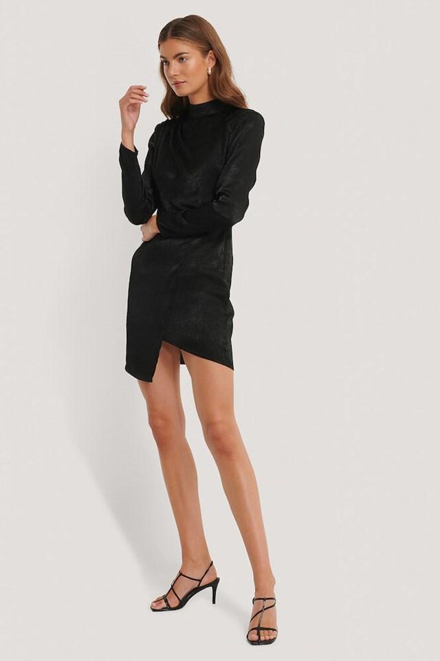 Asymmetric Dress Outfit
