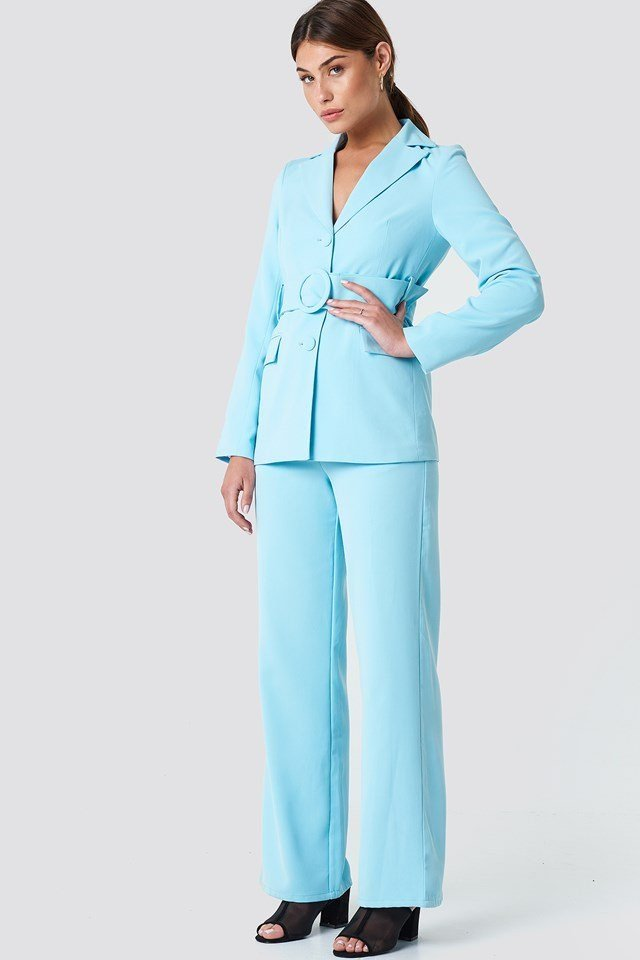 Light Blue Suit Outfit