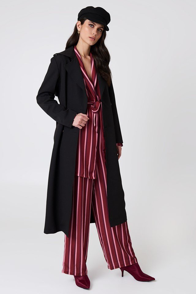 Long Trench Coat Outfit