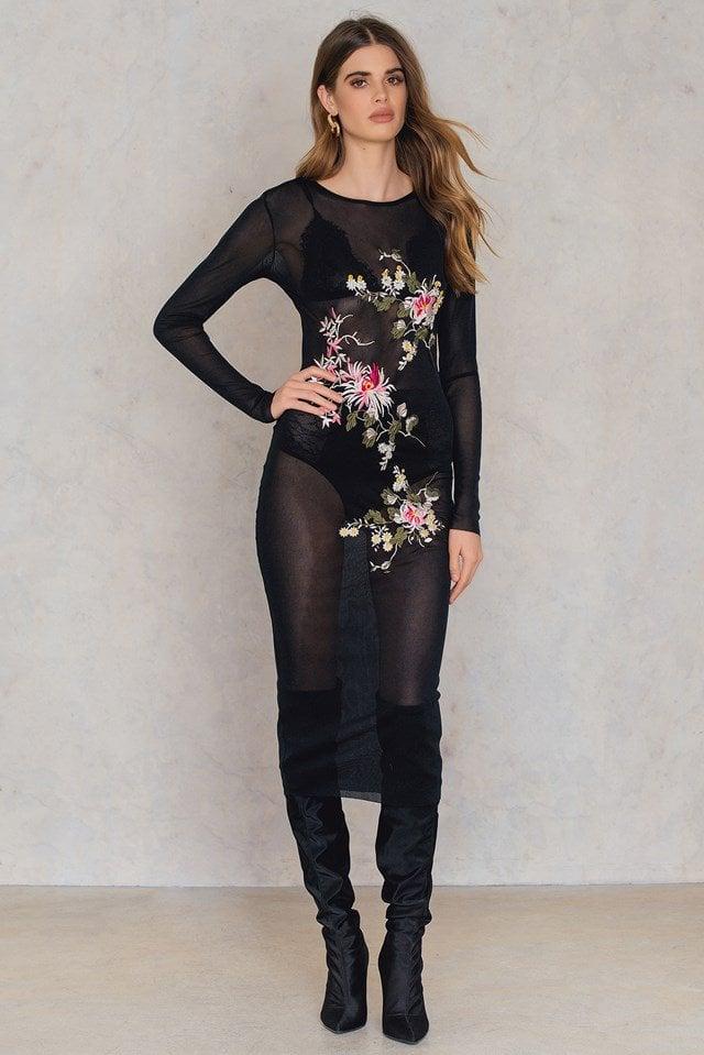Long Sleeve Dress with Leggings
