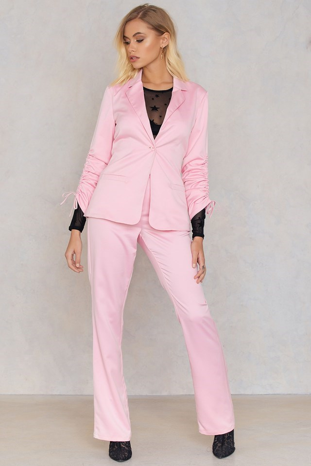 Pink Tailored Suit