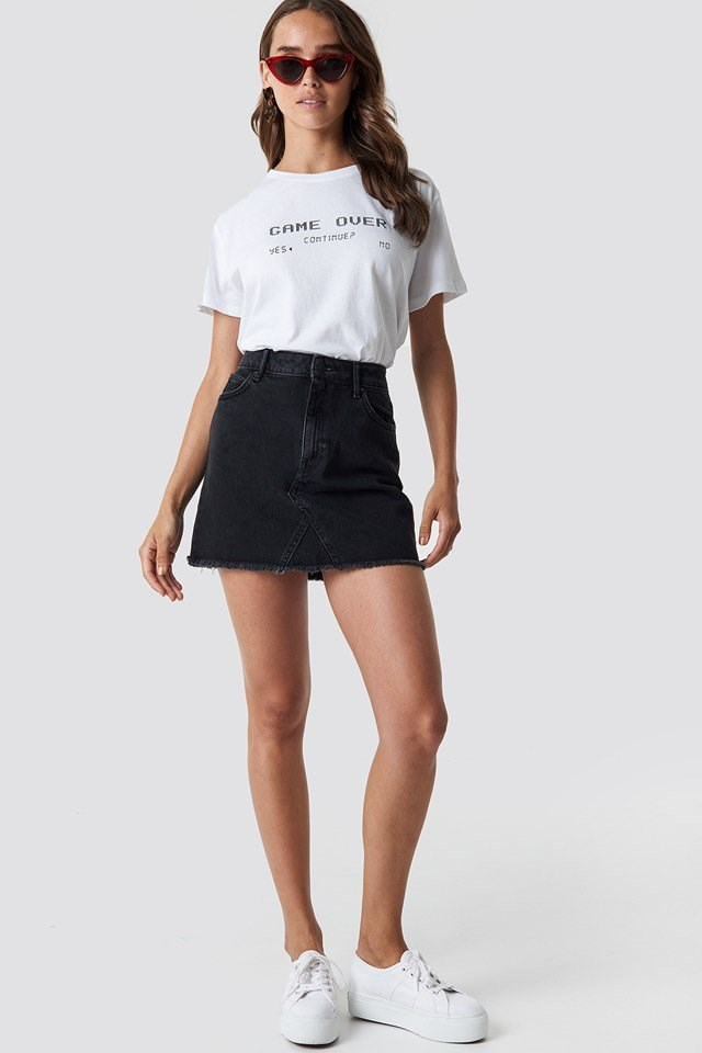 Game Over Oversized Tee