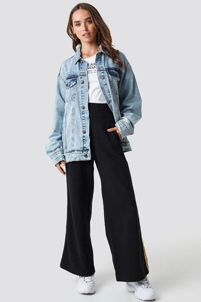 Oversized Denim Jacket Outfit