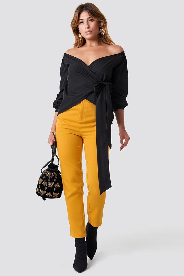 Black and Yellow Outfit