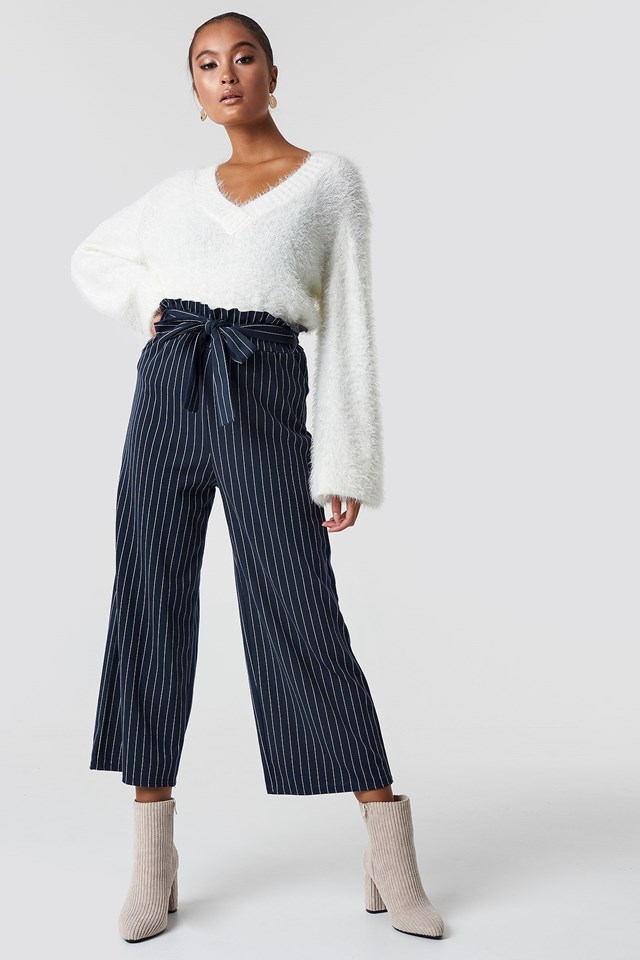 Fluffy Knit Outfit