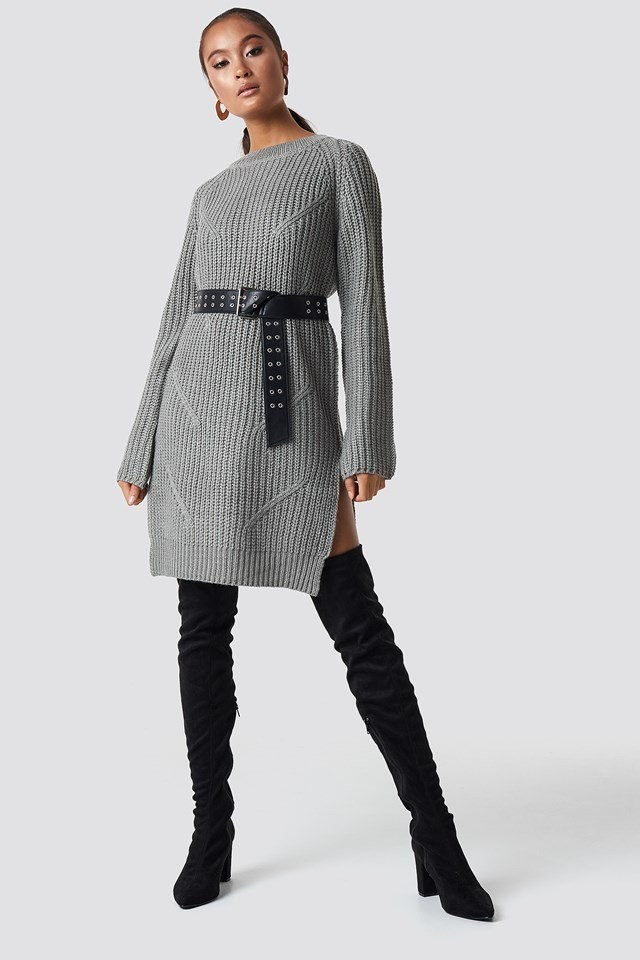 Knit Dress Outfit