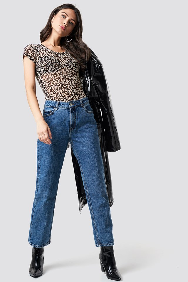 Urban Leo and Denim Outfit