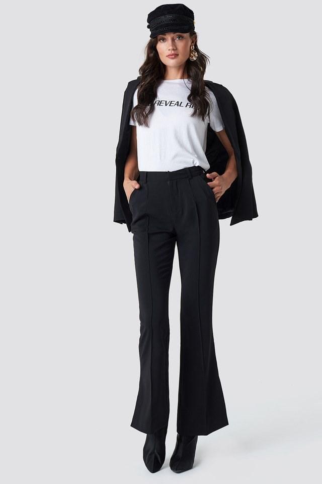 Seamline Suit Pants and Blazer