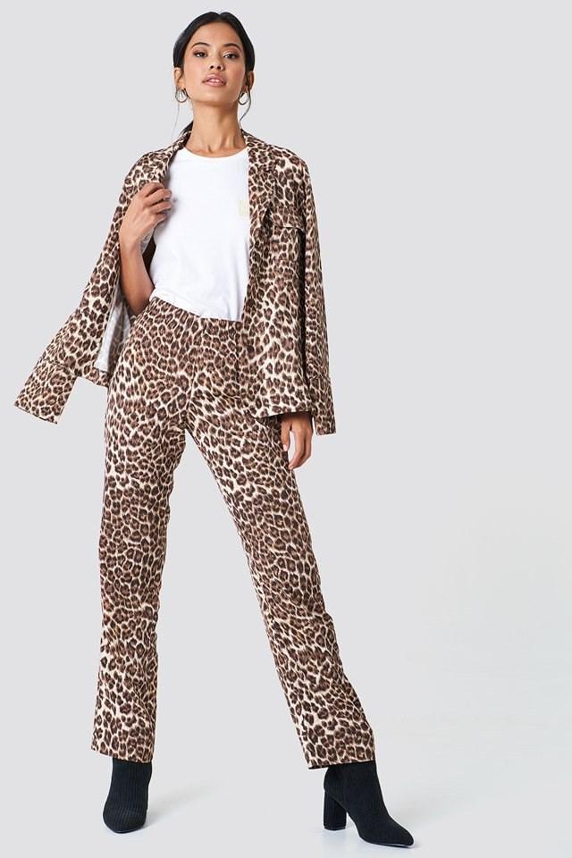 Hoys Straight Pants Aop with Karri Shirt Aop
