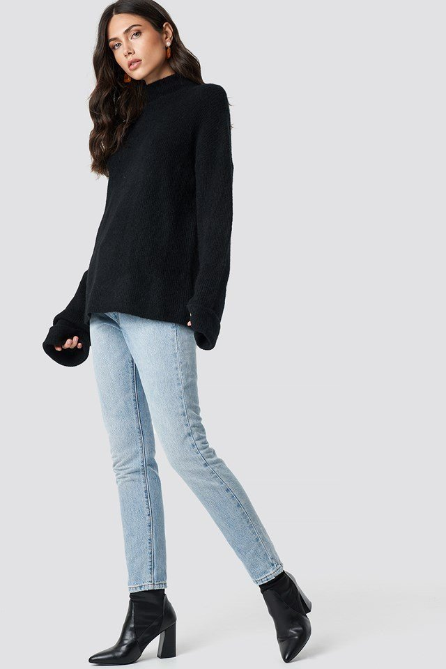 High Neck Everyday Outfit